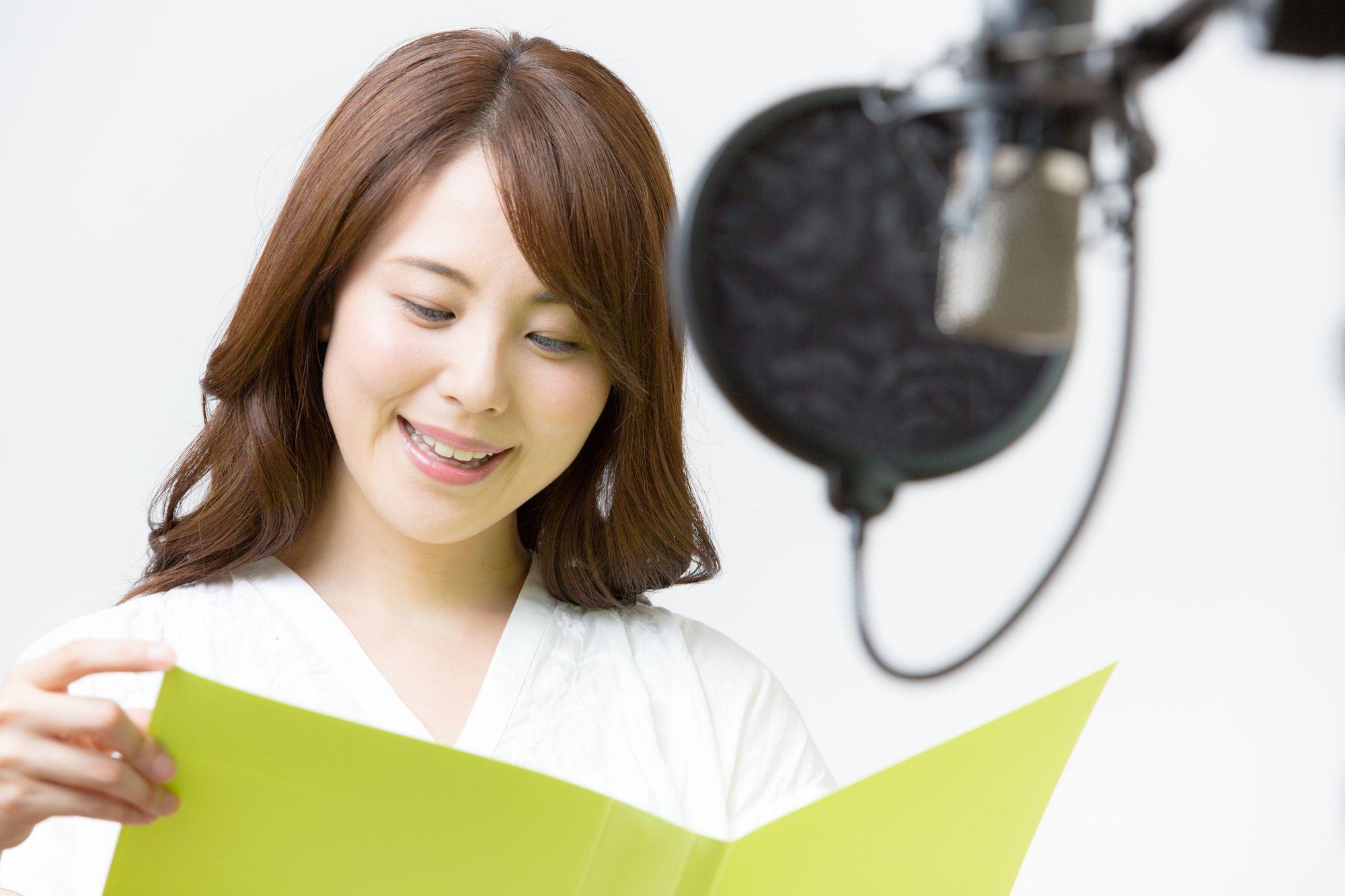 声優に求められる声の演技力とは?